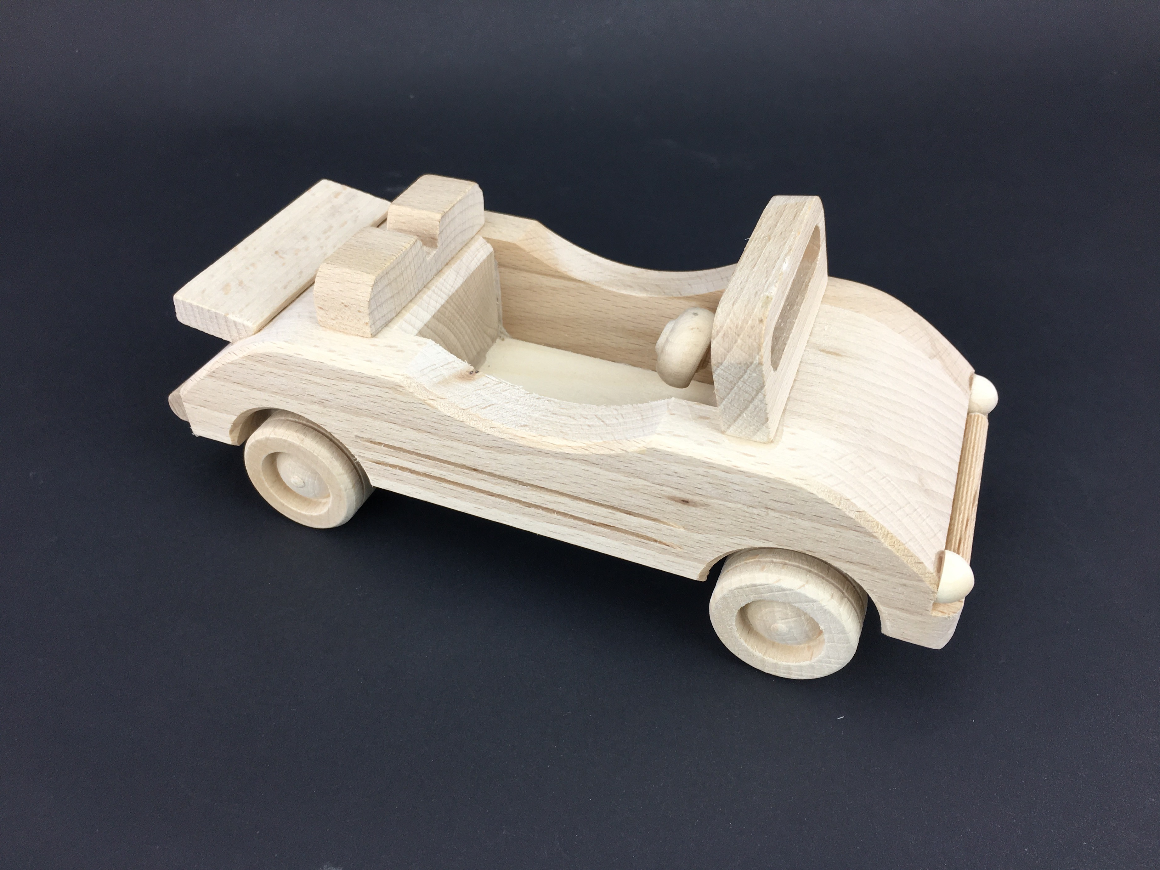 Fire Engine ECO wooden Decoration Vehicle Large wooden Vehicle  Woodeeworld