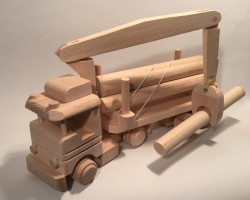 Helicopter ECO wooden Decoration Vehicle Very Large Woodeeworld